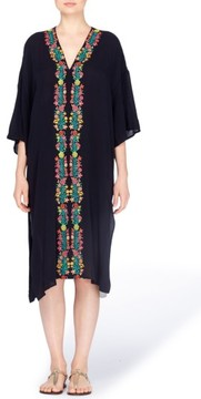 Catherine Malandrino Women's Shinta Embroidered Caftan