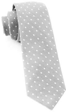 The Tie Bar Dot Print Silk Tie
