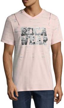 Rocawear 10 MEN 10 Men Short Sleeve V Neck T-Shirt