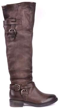 Mjus Women's Brown Leather Boots.