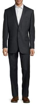 Lauren Ralph Lauren Textured Solid Wool Suit