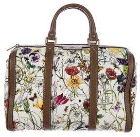 Gucci Vintage Web Flora Boston - BROWN - STYLE