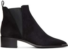Acne Studios Black Suede Jensen Boots