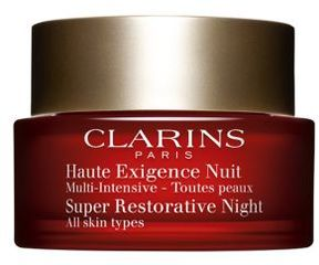 Clarins Super Restorative Night Cream All Skin Types 1.6 Oz.