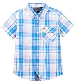 Tommy Hilfiger Short Sleeve Scout Yarn Dye Shirt (Little Boys)