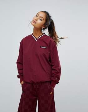 Ellesse Oversized V-Neck Track Top