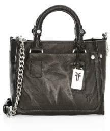 Frye Demi Mini Leather Satchel Handbag