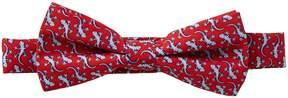 Class Club Lizard Print Bow Tie
