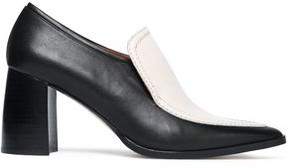 Joseph Two-Tone Leather Loafers