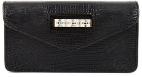 BCBGMAXAZRIA Lainia Exotic Pave Knuckleduster Clutch