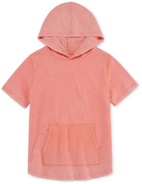 Arizona Short Sleeve Hooded Neck T-Shirt-Big Kid Boys