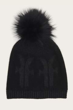 Frye | Logo Pom Hat | Black