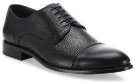 HUGO BOSS Stockholm Derby Leather Shoes
