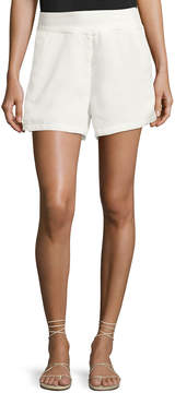 Bishop + Young Ana Woven Pocket Shorts, White