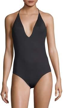 Onia Women's One-Piece Nina Halter Swimsuit