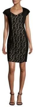 Alexia Admor Floral Lace Sheath Dress