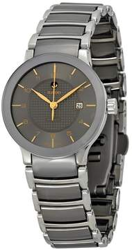 Rado Centrix Automatic Stainless Steel and Ceramic Ladies Watch