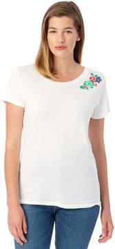 Alternative Apparel Screenprinted Embroidered Vintage T-Shirt