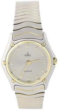Ebel Stainless Steel & 18K Yellow Gold Quartz 26mm Womens Watch