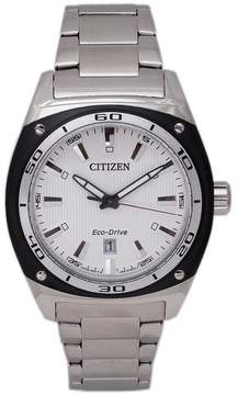 Citizen AW1041-53B Men's Eco-Drive Silver Stainless Steel Watch