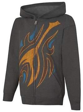 Hanes Boys' EcoSmart Full-Zip Hoodie Graphic Sweatshirt