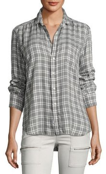 Frank And Eileen Long-Sleeve Button-Front Check-Print Shirt