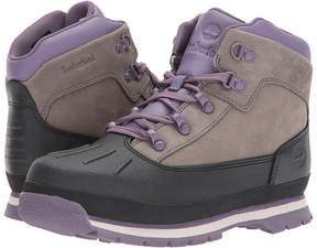 Timberland Kids Euro Hiker Shell Toe Girl's Shoes