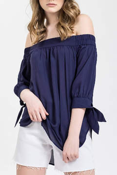 Blu Pepper Off Shoulder Top