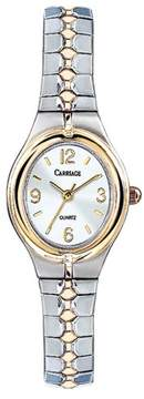 Timex Carriage by Women's Cassandra Watch, Two-Tone Stainless Steel Expansion Band