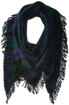 Polo Ralph Lauren Tartan Campus Triangle Scarf Scarves