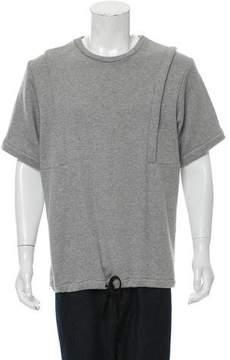 Public School Drawstring Scoop Neck Sweatshirt