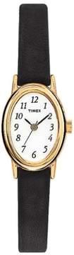 Timex Womens Cavatina T21912 Black Strap Watch