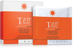 TanTowel Plus Self-Tan Towelette Full Body Application For Face & Body