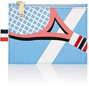 Thom Browne Men's Tennis-Racket Small Leather Coin Purse