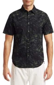 Saks Fifth Avenue x Anthony Davis Printed Button-Down Shirt