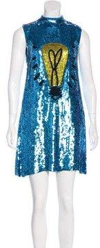 Au Jour Le Jour Embellished Light Bulb Dress