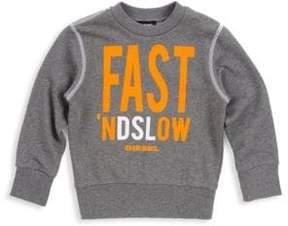 Diesel Toddler's & Little Boy's Sipok Cotton Sweatshirt