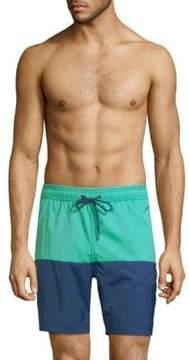 Mr.Swim Colorblock Drawstring Shorts