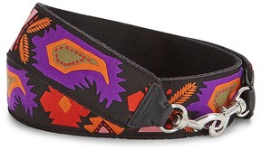 Rebecca Minkoff Pattern Embroidered Guitar Strap - ONE COLOR - STYLE
