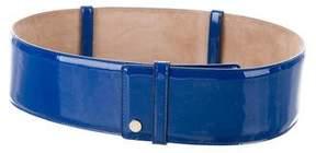 Jimmy Choo Patent Leather Waist Belt
