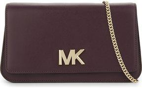 MICHAEL Michael Kors Michael Kors Ladies Velvet Branded Classic Mott Leather Swag Shoulder Bag