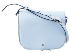 Tory Burch Toggle Messenger Bag - BLUE - STYLE