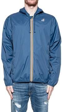 K-Way Blue Hood Jacket