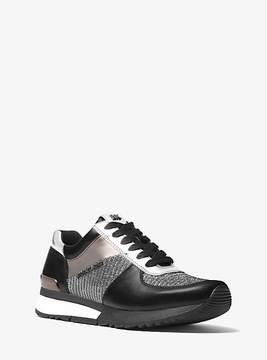Michael Kors Allie Mixed-Media Sneaker