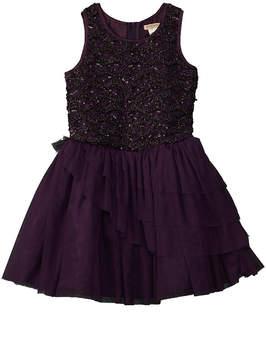 Nanette Lepore Girls' Sequined Dress