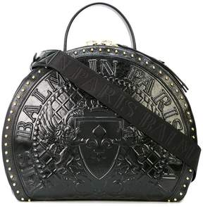 Balmain Logo medallion drum bag