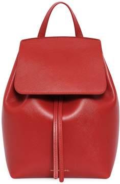Mansur Gavriel Saffiano Mini Backpack