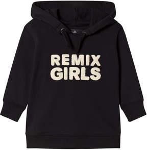 Little Remix Black Slogan Hoodie