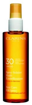 Clarins Sunscreen Care Body & Hair Oil Spray SPF 30/ 5 oz.