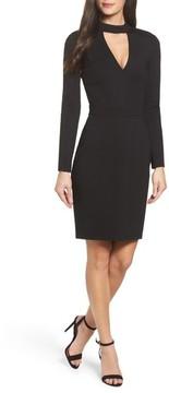 Adelyn Rae Women's Laila Choker Body-Con Dress